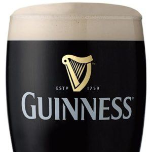 Guinness single glass