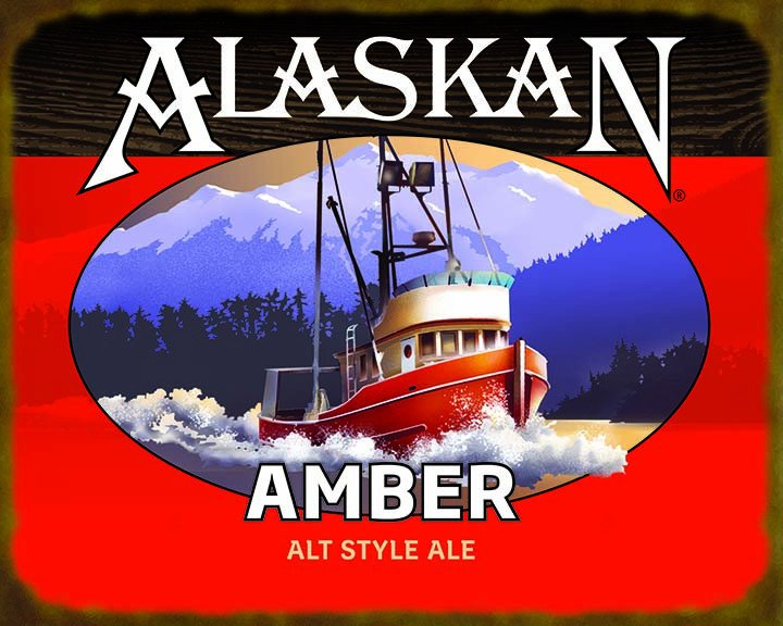 alaskan_amber_ale_label_sticker__75985